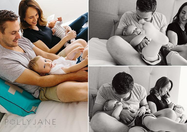 At home Newborn Photography Sydney Sutherland Shire
