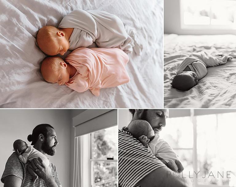 Newborn Twins Lifestyle Photographer Sydney Sutherland Shire