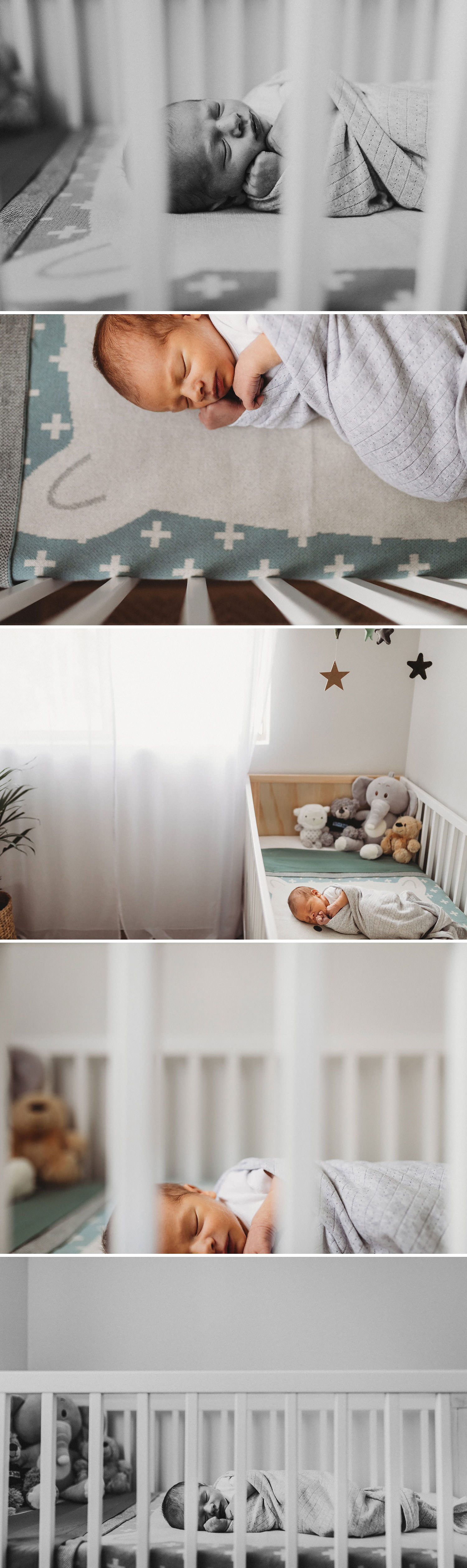 Newborn Photographer Sydney in home lifestyle